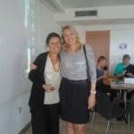 Pisana Ferrari (Włochy) i Agnieszka Bartosiewicz
